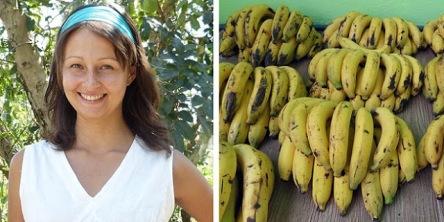 Bananas - mulher