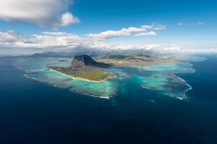 Main Mauritius island view